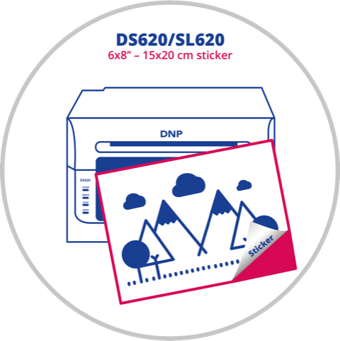 DS620/SL620 sticker 6x8